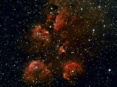 Nebulosa Pata de Gato – NGC 6334