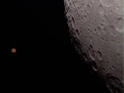 Conjunción Luna – Marte 5/9/2020