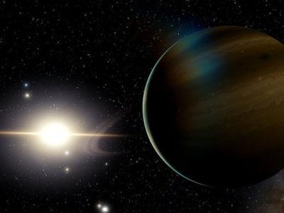 Descubren un planeta gigante orbitando una estrella enana blanca muerta.
