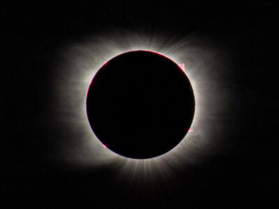 Fotos del Eclipse total de Sol del 14/12/2020