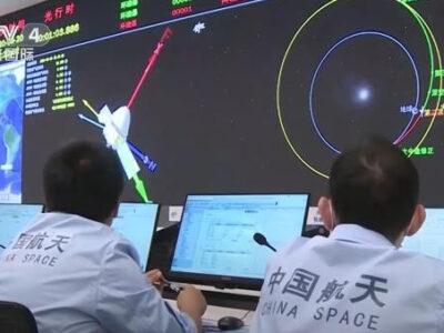 China llega por primera vez a Marte